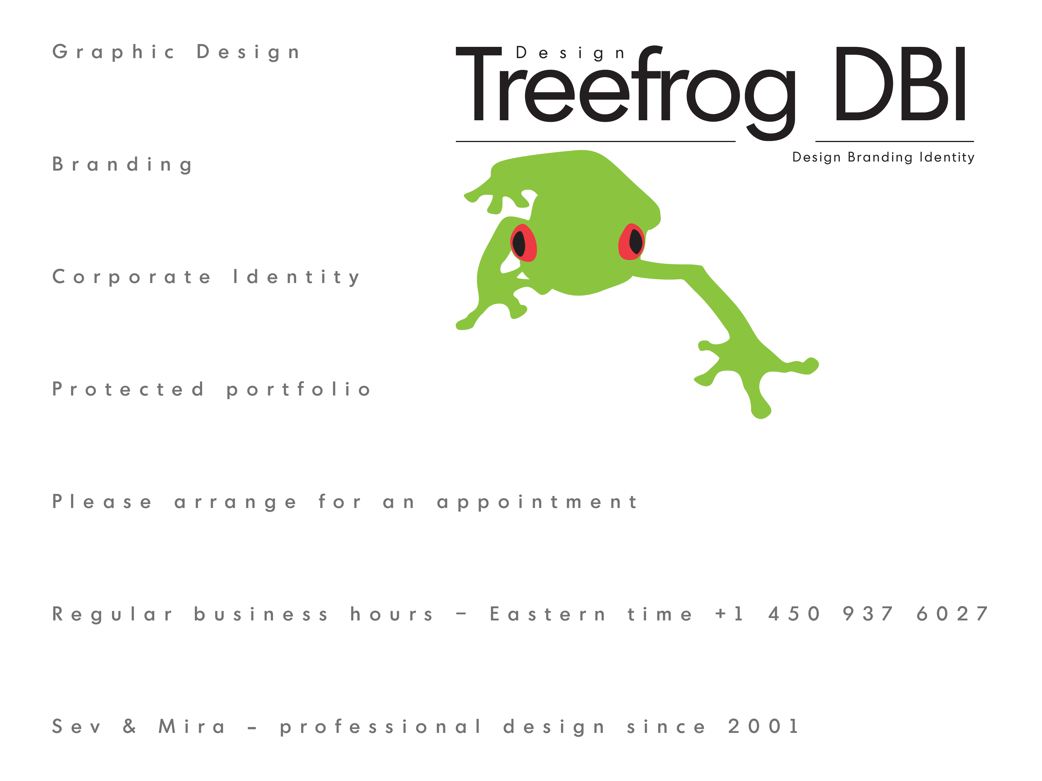 Design Treefrog BMD